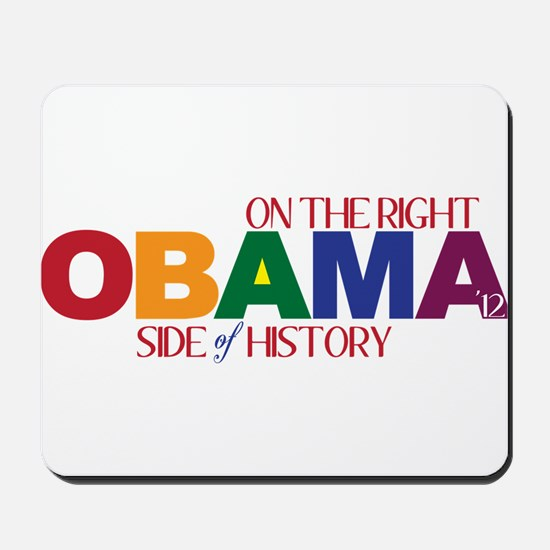 Obama 2012 Gay Marriage Mousepad