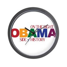 Obama 2012 Gay Marriage Wall Clock