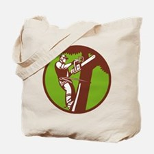 Arborist Tree Surgeon Trimmer Pruner Tote Bag