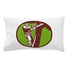Arborist Tree Surgeon Trimmer Pruner Pillow Case