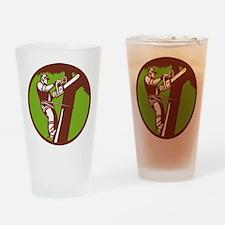 Arborist Tree Surgeon Trimmer Pruner Drinking Glas