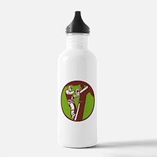 Arborist Tree Surgeon Trimmer Pruner Water Bottle