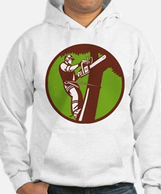 Arborist Tree Surgeon Trimmer Pruner Hoodie