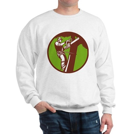 Arborist Tree Surgeon Trimmer Pruner Sweatshirt