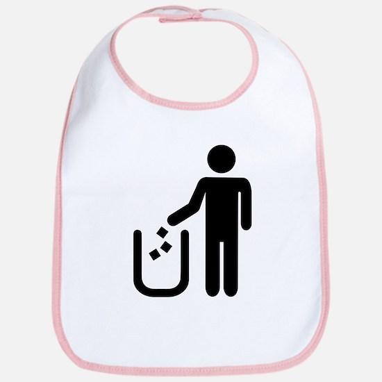 Litter waste garbage Bib