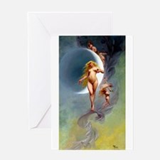 Falero - Planet Venus Greeting Card