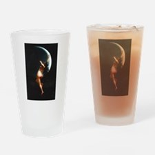 Nude Falero Moon Nymph Drinking Glass