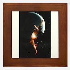 Nude Falero Moon Nymph Framed Tile