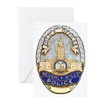Beverly Hills Police Greeting Cards (Pk of 10)
