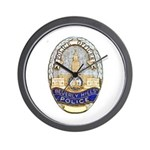 Beverly Hills Police Wall Clock