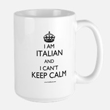 I AM ITALIAN AND I CAN'T KEEP CALM Mugs