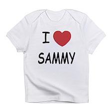 I heart SAMMY Infant T-Shirt