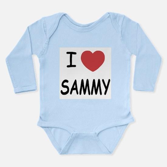 I heart SAMMY Long Sleeve Infant Bodysuit
