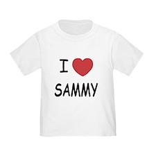 I heart SAMMY T