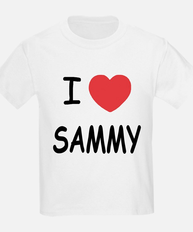 I heart SAMMY T-Shirt