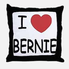 I heart BERNIE Throw Pillow