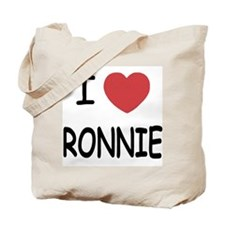 I heart RONNIE Tote Bag