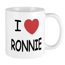 I heart RONNIE Mug