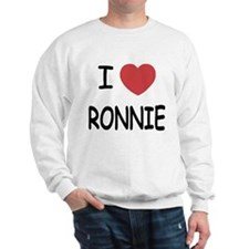 I heart RONNIE Sweatshirt