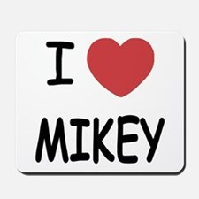 I heart MIKEY Mousepad