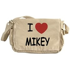 I heart MIKEY Messenger Bag