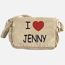 I heart JENNY Messenger Bag
