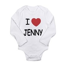 I heart JENNY Long Sleeve Infant Bodysuit