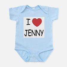I heart JENNY Onesie