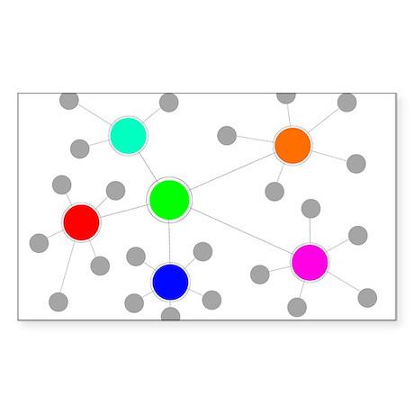Network Sticker (Rectangle)