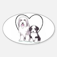 Bearded Collies Decal