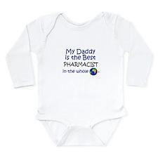 Unique Pharmacist Long Sleeve Infant Bodysuit
