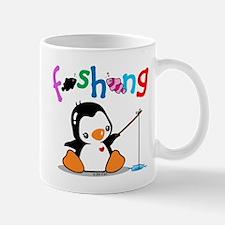 Fishing Penguin (2) Mug