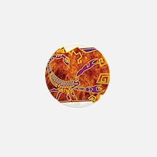 Scorpio Tribal Tattoo Mini Button
