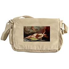 Falero - Reclining Nude Messenger Bag