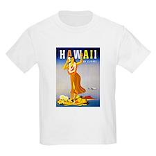 Hawaii Travel Poster 1 T-Shirt