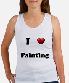 Painting Women's Tank Top