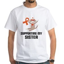 Support Sister Orange Ribbon Shirt