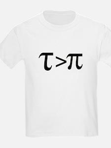 Tau Greater than Pi T-Shirt