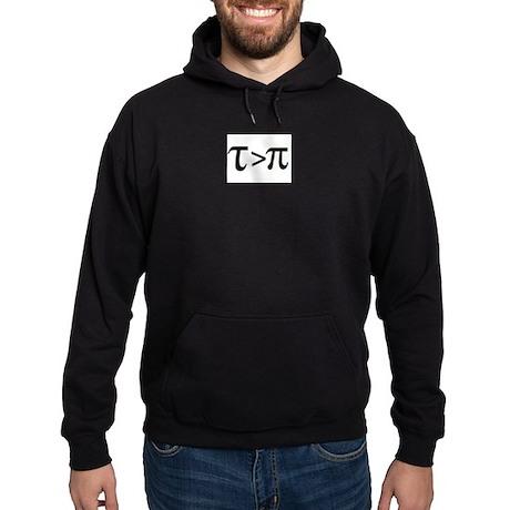 Tau Greater than Pi Hoodie (dark)