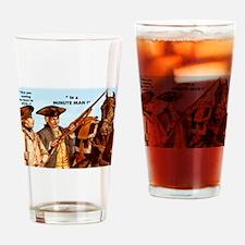 MINUTEMAN Drinking Glass