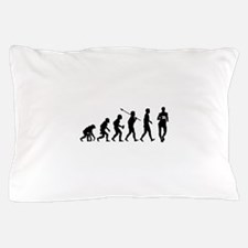 Race Walking Pillow Case