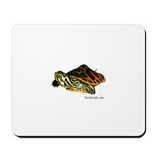 Hatchling Map Turtle Mousepad
