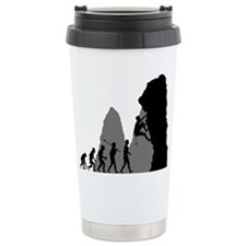 Rock Climbing Travel Mug