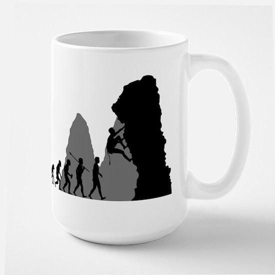 Rock Climbing Large Mug