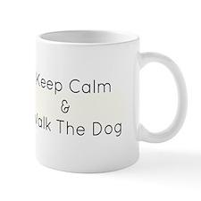 Keep Calm Walk The Down Mug