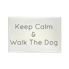 Keep Calm Walk The Down Rectangle Magnet