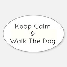 Keep Calm Walk The Down Decal