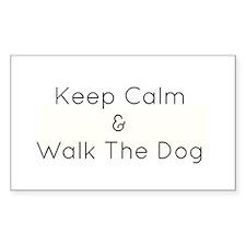 Keep Calm Walk The Down Decal