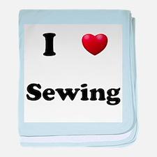 Sewing baby blanket