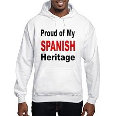 Proud Spanish Heritage (Front) Hoodie